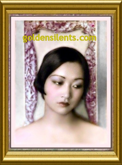 Anna May Wong Portrait Shot