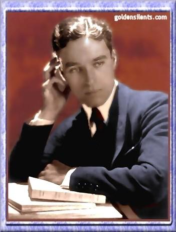169 Charles Chaplin Silent Film Star Goldensilents Com