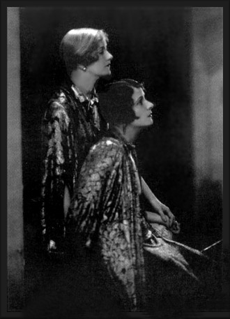 Sisters Constance and Norma Talmadge, Silent Movie Stars