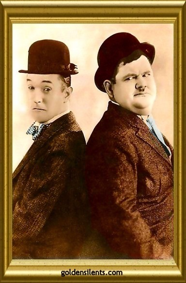 Stan Laurel and Oliver Hardy - The Perfect Silent Film Comedy Team