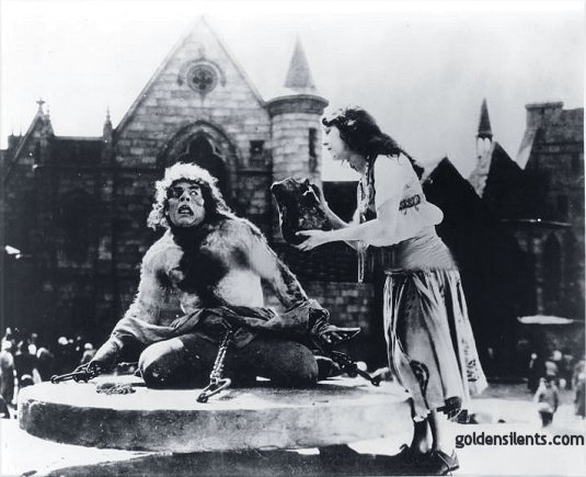 Lon Chaney in The Hunchback of Notre Dame (1923)