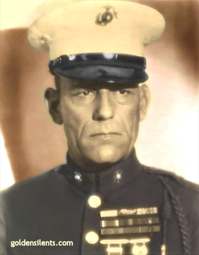 Lon Chaney in Tell It To The Marines (1926), his favorite film role