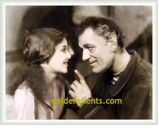 Loretta Young with Lon Chaney in Laugh, Clown, Laugh (1928)