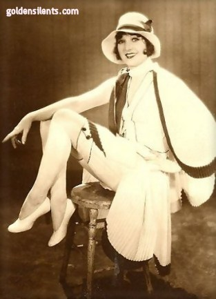 Madge Bellamy as flapper