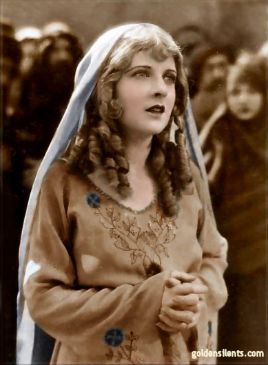 May McAvoy, in Ben Hur (1925) as Esther (Golden Silents Colorized)
