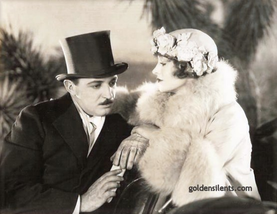 Raymond Griffith and Betty Compson in Paths to Paradise