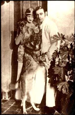 Rudolph Valentino Silent Movie Star
