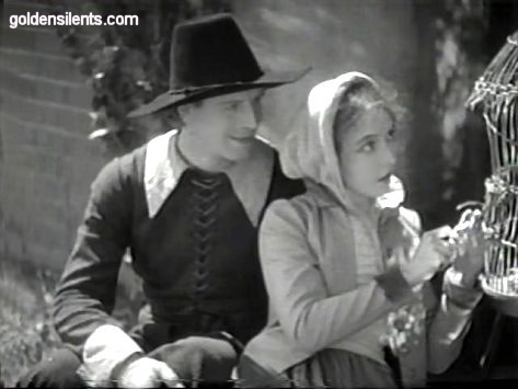 lillian gish in the scarlet letter with lars hanson