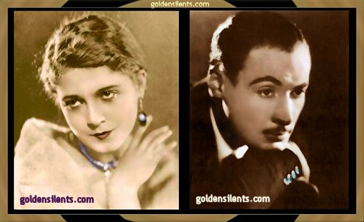 Vilma Banky and Rod La Rocque, Married Silent Stars