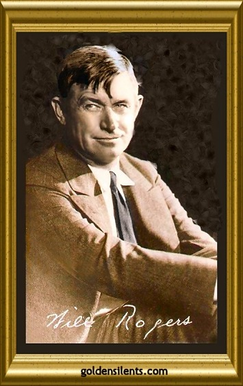 Will Rogers, Silent Movie Actor